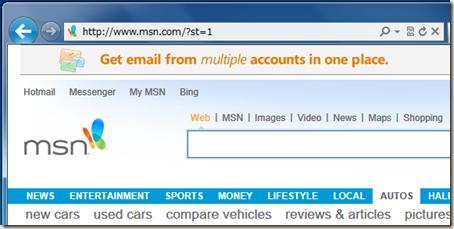 米国版の MSN サイト