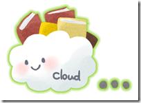 「Microsoft Online Services 検証の館」のイメージキャラクター「クラウドちゃん」