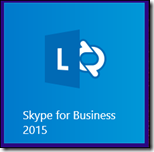 「Skype for Business 2015」タイル